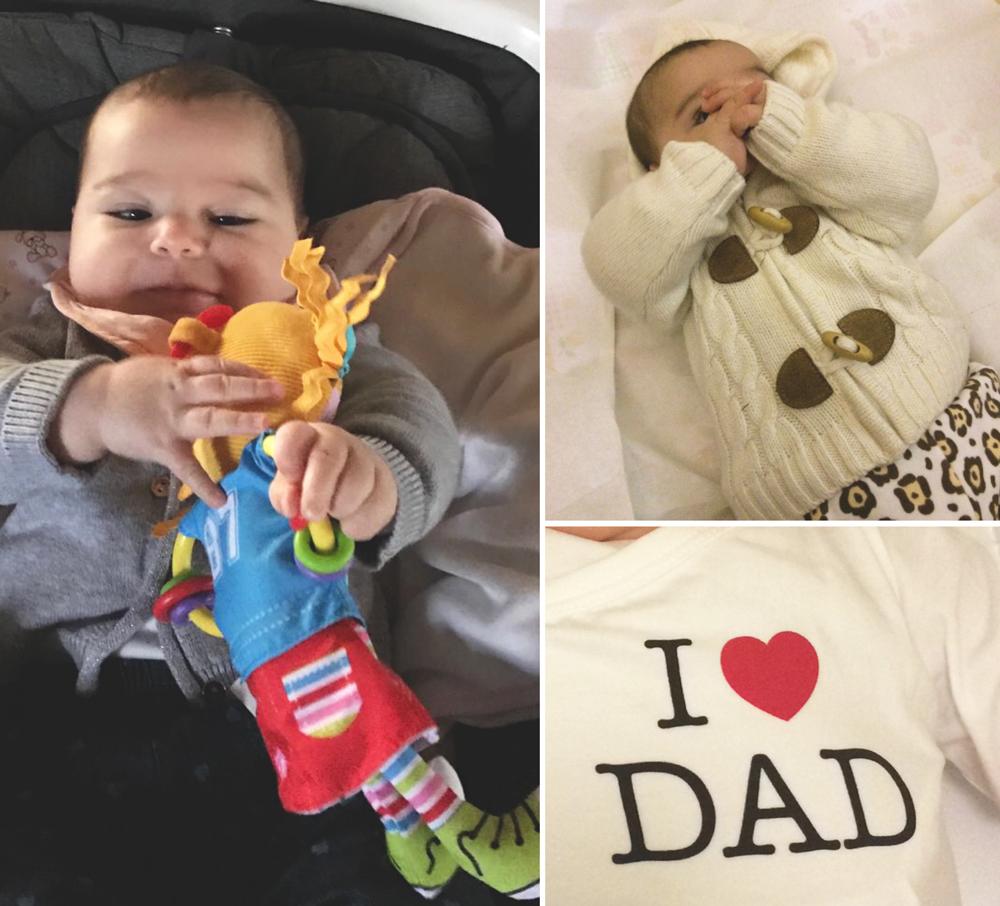 Comportamento bambina a 4 mesi