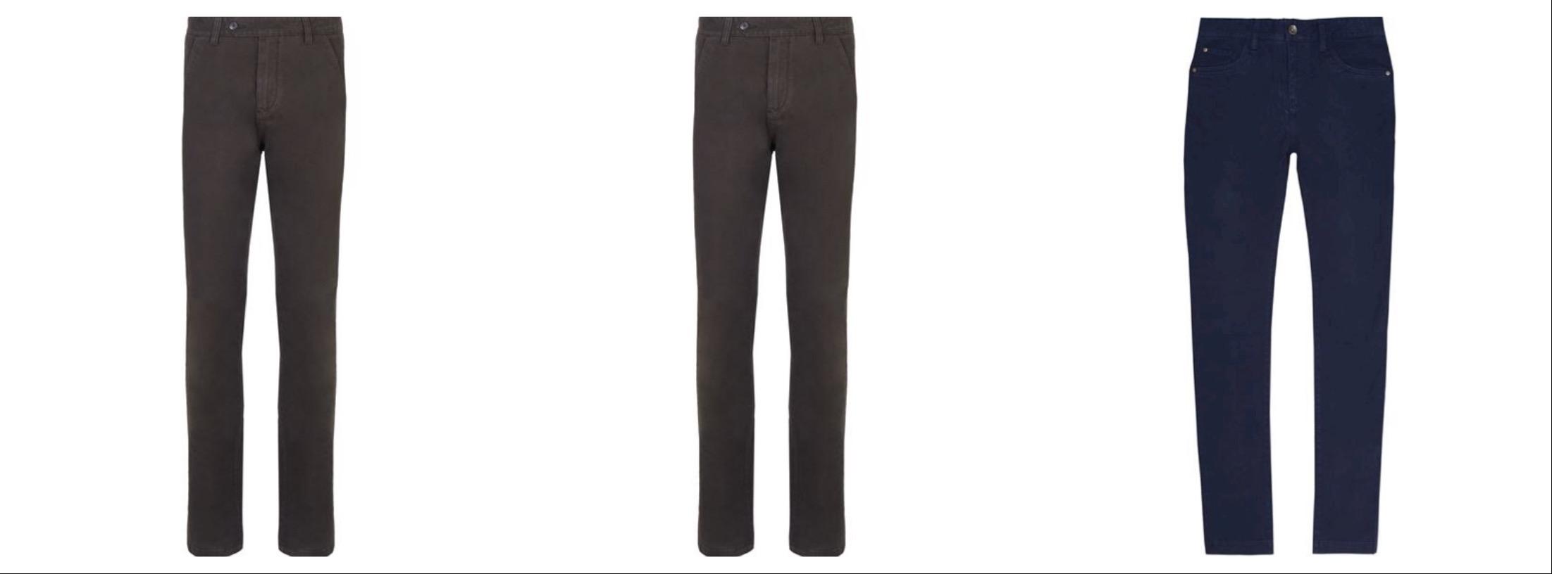 pantaloni da uomo