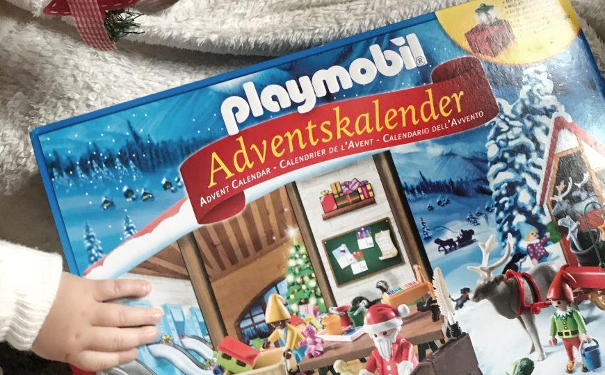 Un regalo da scartare ogni giorno, Il calendario dell'avvento Playmobil