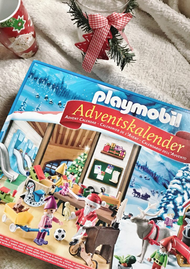 playmobil, il calendario dell'avvento, laboratorio di babbo natale