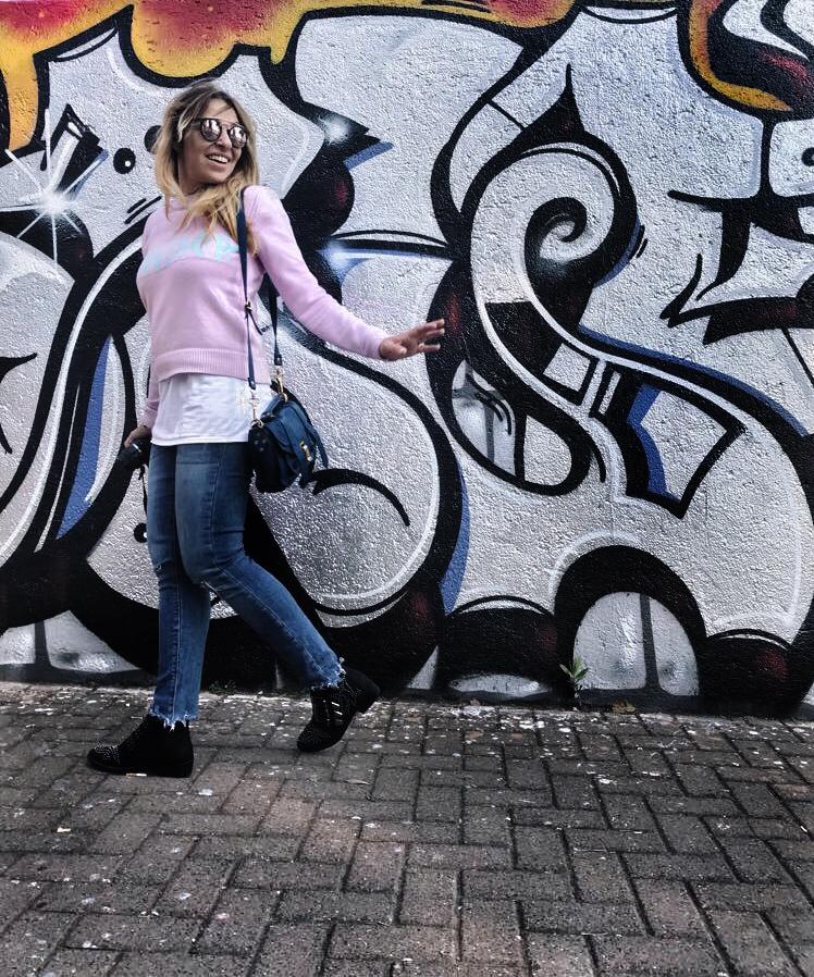 Zaful, maglione rosa monday