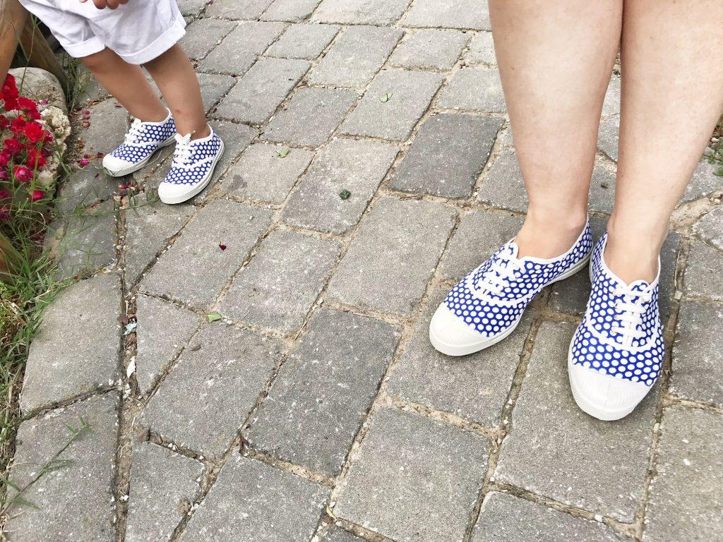 trend mini me scarpe da tennis