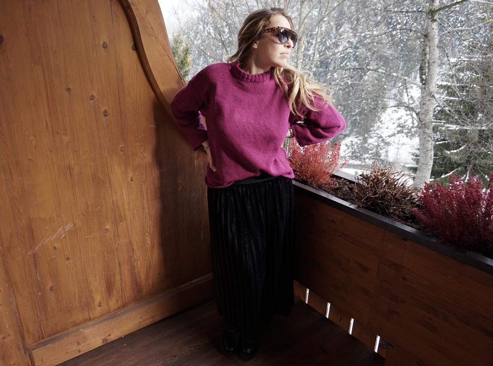 Total look zaful sweet lavanda blog