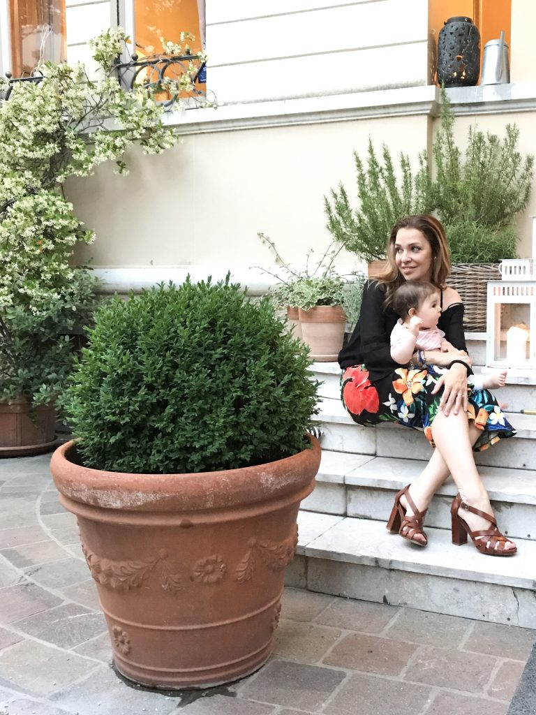 pantaloni fantasia a vita alta sweet lavanda 2017