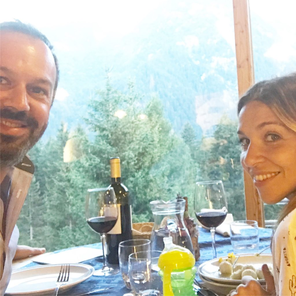 Montagna in estate Maso Celesta Tonale