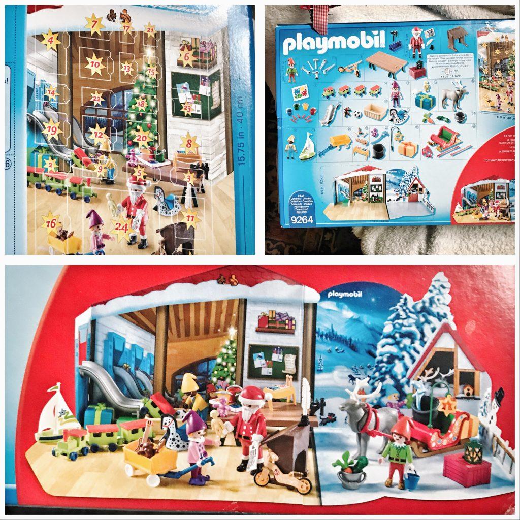 playmobil, il calendario dell'avvento, laboratorio di babbo natale
