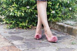 Il potere delle scarpe con i pon pon