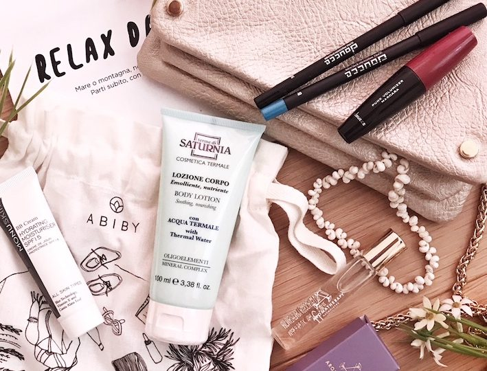 Abiby, una beauty box piena di sorprese