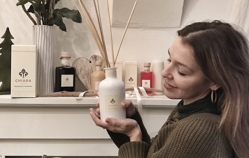 Chiara Firenze, profumi per ambienti