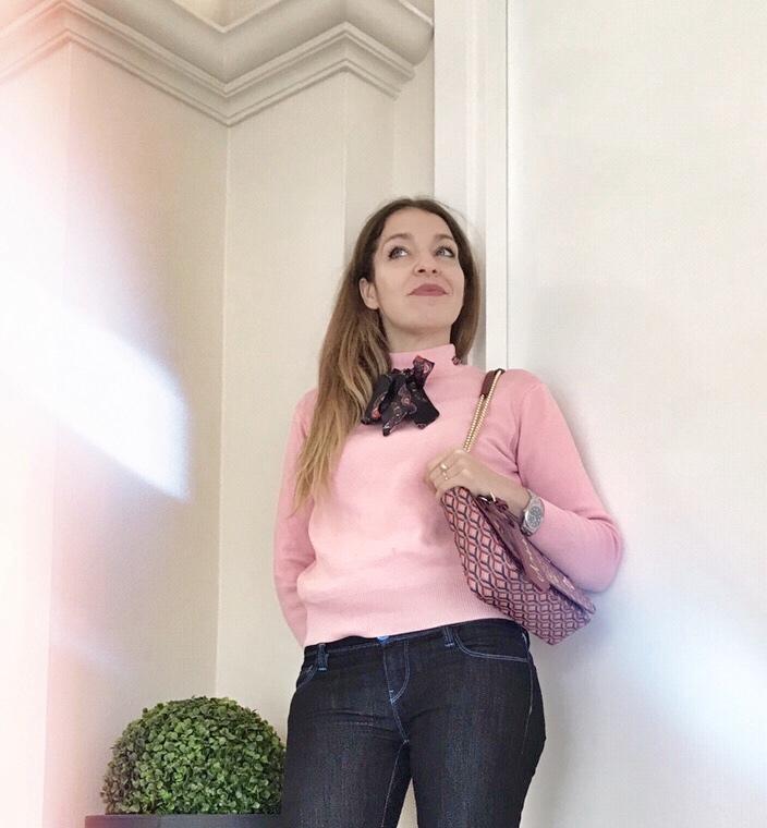 Maglione rosa shein Sweet lavanda