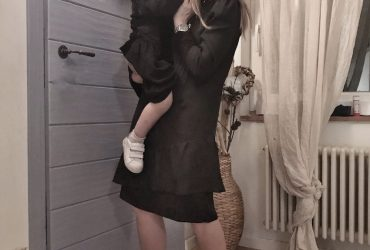 Mamma e figlia, noi due vestite uguali