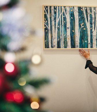 La Casa si veste di Natale e non solo